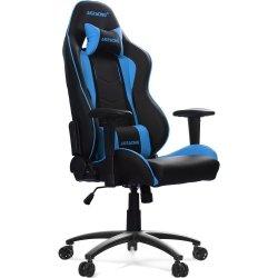 AKRACING Nitro Gaming Chair AK-NITRO-BL czarny / niebieski