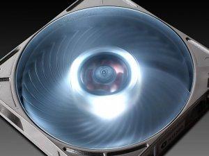 SilverStone AP121-WL 3-Pin-złącze, srebrny/wei