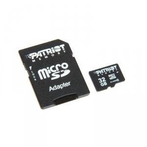 Patriot MicroSDHC Card 32 GB Class 10, czarny
