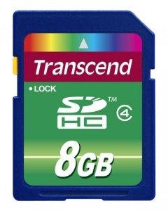 Transcend Secure Digital SDHC Card 8 GB Class 4