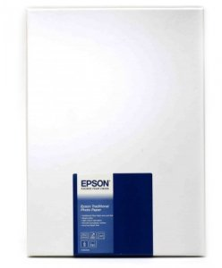 Epson Traditional Photo Paper seidenmatt A 4, 25 kartek, 330 g
