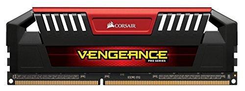Corsair 32GB DDR3L-1600 Quad-Kit, rot, CMY32GX3M4C1600C9R, Vengeance Pro