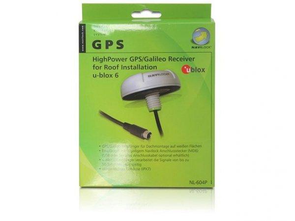 Navilock GPS NL-622MP ublox 6 - MD6 Seriell Odbiornik GPS