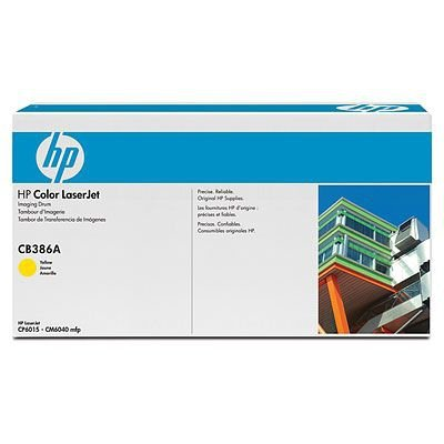 HP Bęben yellow CB386A