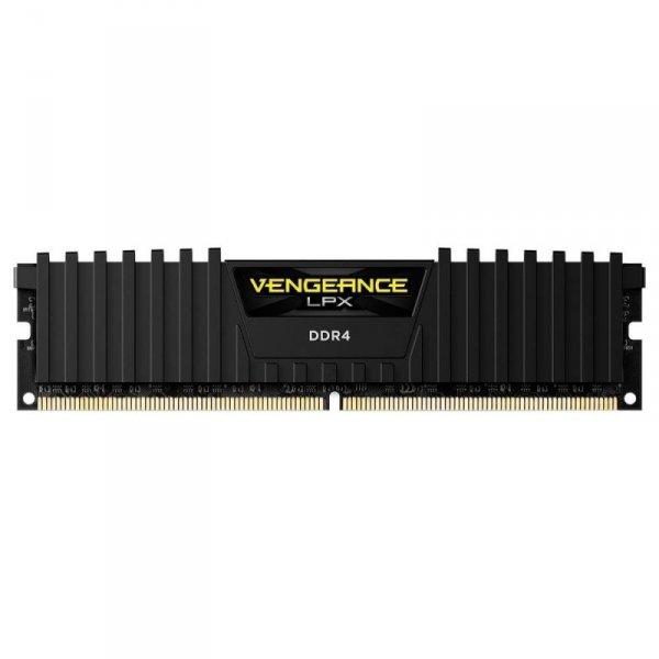 Corsair  16 GB DDR4-2666, czarny, CMK16GX4M1A2666C16, Vengeance LPX