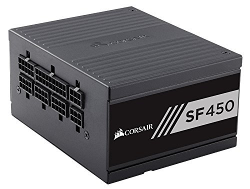 Corsair SF450 450W SFX, czarny, 2x PCIe, Kabel-Management