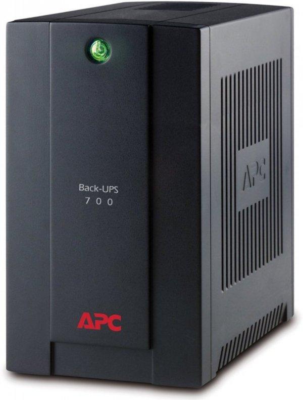 APC Back-UPS BX700U-GR czarny, 700VA