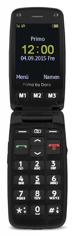 Doro Primo 406, czarny/srebrny