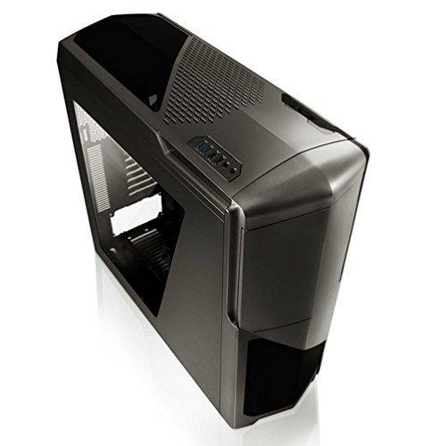 NZXT Phantom 630 + window gun metal, Big-Tower graphit, Window-Kit