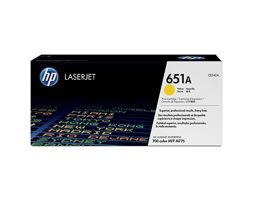 Toner HP M775         yellow      CE342A   16000 str.
