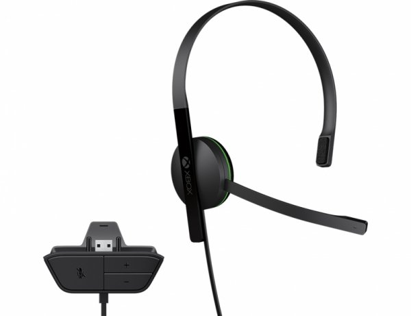 Microsoft  XBOX One Wired Chat Headset XBOX