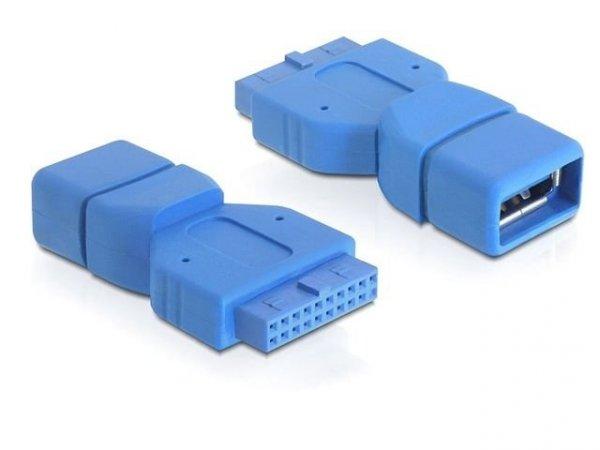 Delock Adapter USB 3.0 wewnętrzny na USB 3.0 zewnętrzny
