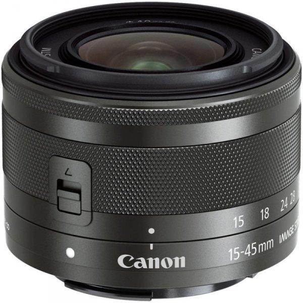 Canon EF-M 3,5-6,3/15-45 IS STM black