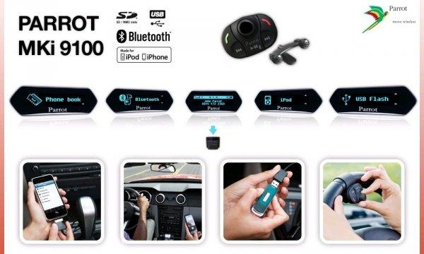 Parrot MKi9100 Bluetooth FSE Wersja 3.0