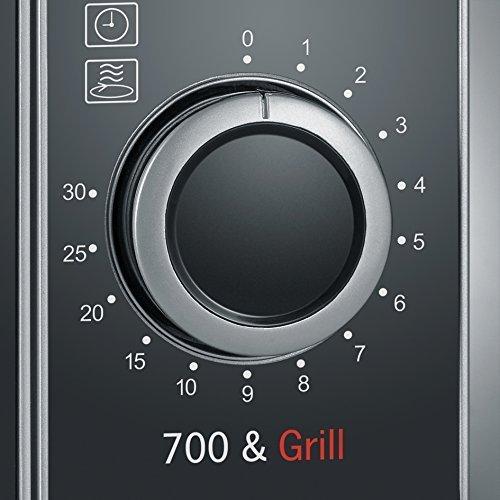 Severin MW 7874 - mikrofalówka - 700W - 20l - srebrna