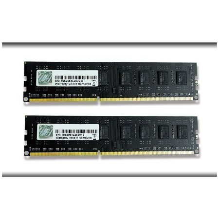 G.Skill 4 GB DDR3-1333 Kit, F3-10600CL9D-4GBNS, NS-Serie, Lite Retail