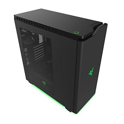 NZXT H440 Special Edition Window czarny/zielony, Tower czarny, Window-Kit