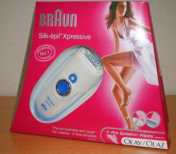 Braun Silk epil Xpressive 7 do ciała i twarzy