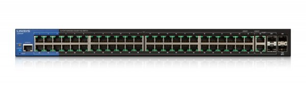 Linksys Managed Switches PoE 52-p. (2 SPF 10G) LGS552P-EU