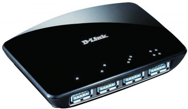 D-Link 4-Port USB 3.0 Hub Aktywny z zasilaczem