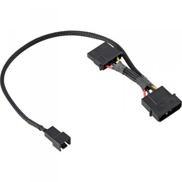 Sharkoon adapter wyciszający wentylatory - 12V-5V - kabel 30cm