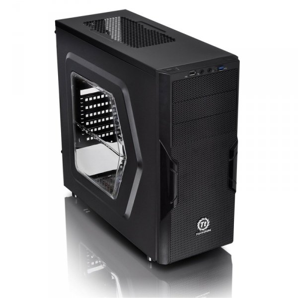 Thermaltake Versa H22 Window, Tower czarny, Window-Kit