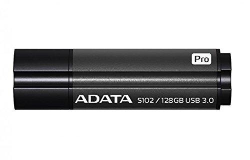 ADATA USB 128GB 50/100 S102 Pro - szary - USB 3.0