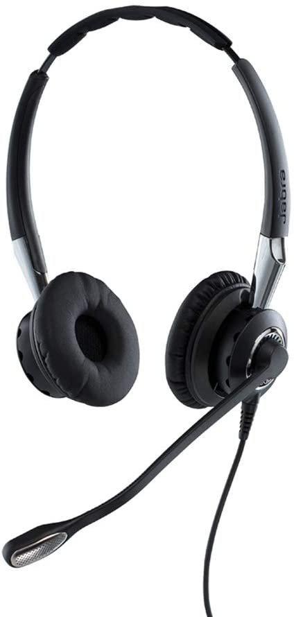 Jabra BIZ 2400 II Duo, 446 czarny, CC-Bedienelement, MS Lync/Skype