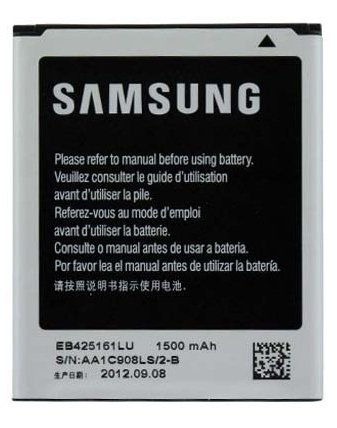 Samsung oryginalny akumulator Li-Ion 1500 mAH do I8160 Galaxy Ace2/ S7562 Galaxy S Duos