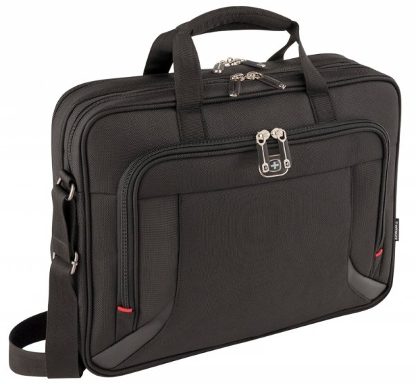 Wenger Prospectus Notebook Case 16  Black