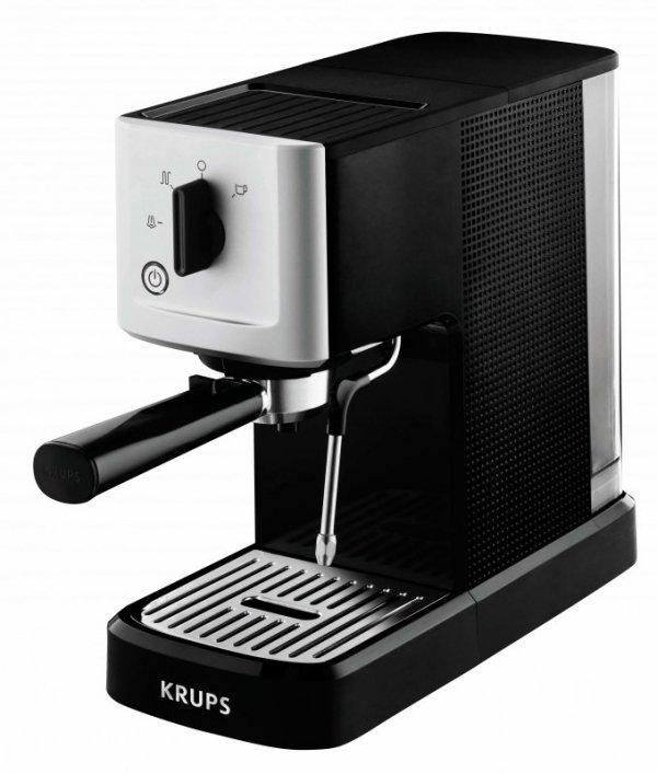 Krups XP3440 Espresso-Automat Calvi czarny/stal nierdzewna
