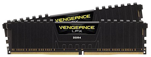 Corsair  32 GB DDR4-2400 Kit, czarny, CMK32GX4M2A2400C16, Vengeance LPX