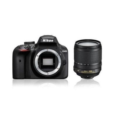 Nikon D3400 Kit black + AF-S 18-105 VR