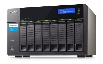 "Qnap TVS-871T 4x3.0Ghz/16GB/8x3,5"", NAS"