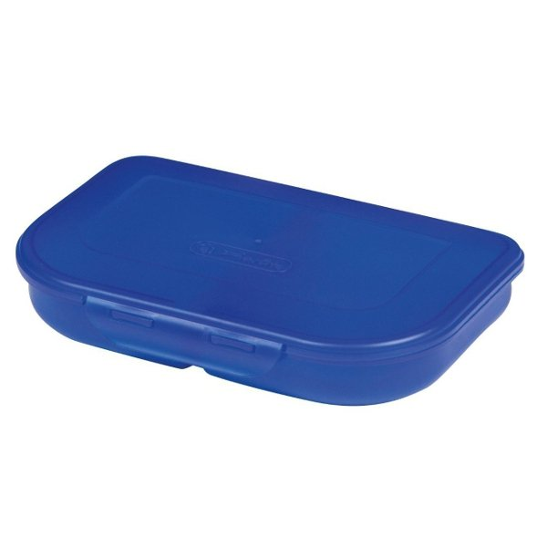 Herlitz dwukomorowa śniadaniówka niebieska