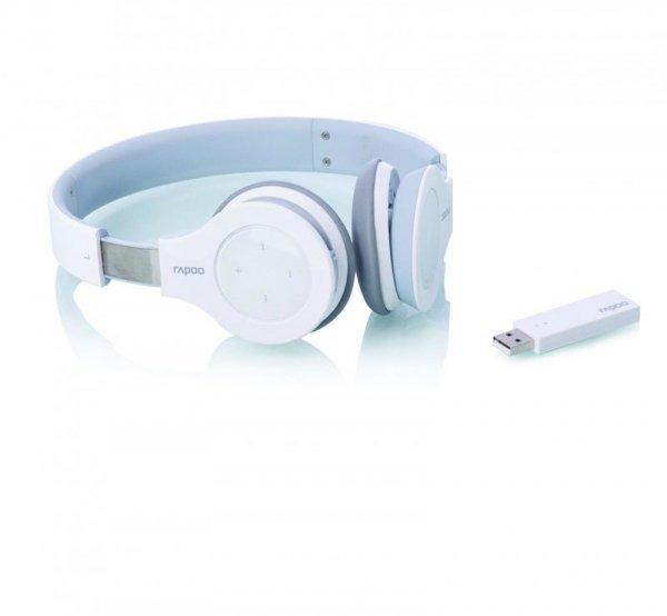 rapoo H8020 - 2.4GHz Wireless USB Headset biały