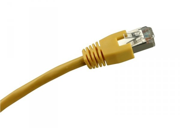 Sharkoon RJ45 Kabel Sieciowy CAT.5e SFTP yellow 2m