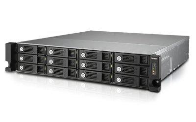 Qnap TVS-1271U-RP-i3-8G 2x3,5Ghz/8GB/12x, NAS