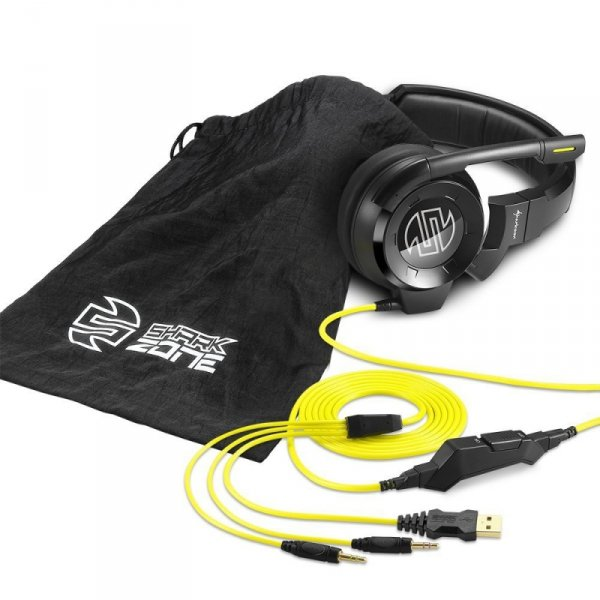 Sharkoon SHARK ZONE H40 - słuchawki z mikrofonem - dla graczy