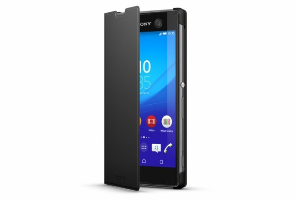 Sony SCR48 Style Cover black dla Xperia M5