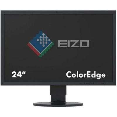 EIZO CS2420 ColorEdge, czarny, HDMI, DVI, DisplayPort, USB 3.0, Pivot