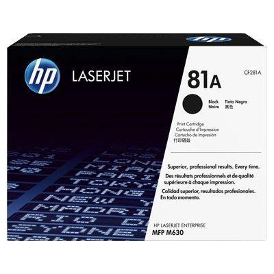 Toner HP CF281A Black LaserJet TonerCart