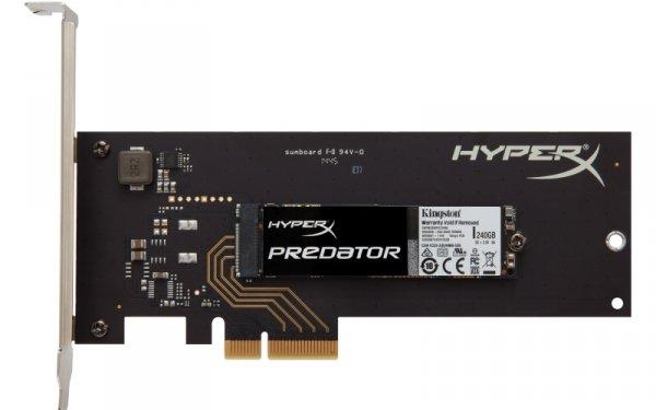 Kingston HyperX SHPM2280P2H/240G 240 GB, SSD M.2 - Predator PCIe