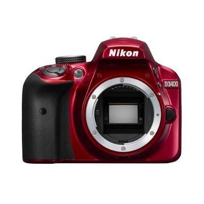 Nikon D3400 Body red