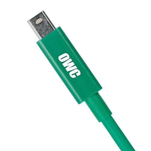 OWC 2.0 Meter Thunderbolt Cable (Green), Adapter