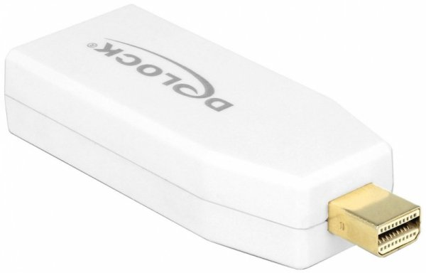 DeLOCK Adapter - Mini Displayport - HDMI - 4K Active - biały