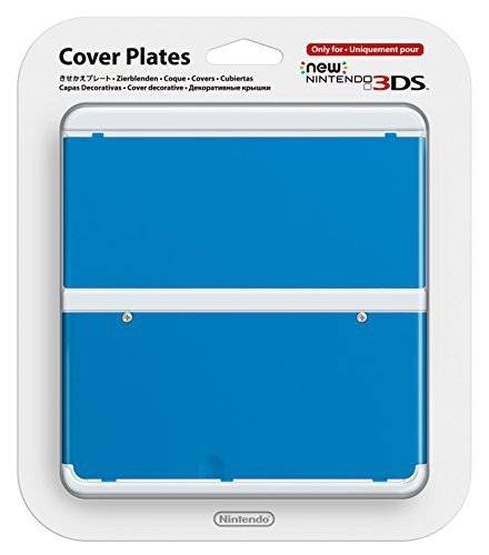 Nintendo New 3DS Cover Plate blue 020
