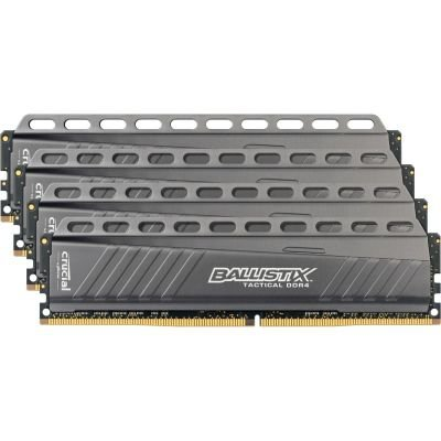 Crucial Ballistix Tactical 16GB 4GBx4 DDR4 2666 MT/s DIMM 288pin