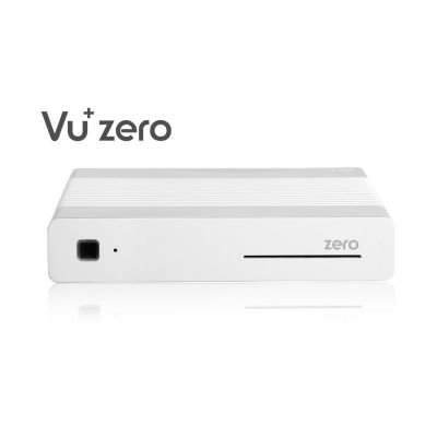VU+ Zero biały Linux HD-Receiver (DVB-S2), HbbTV, Kartenleser, HDMI, 2x USB
