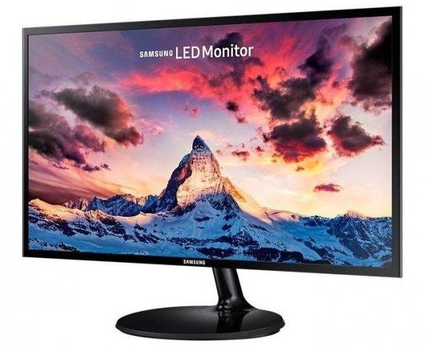 Samsung S22F350FH, czarny, HDMI (HDCP), VGA, AMD FreeSync